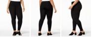 Eileen Fisher Plus Size Jersey Knit Ankle Leggings