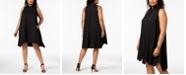 Alfani Plus Size Trapeze Shirtdress, Created for Macy's