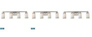 ELK Lighting Bryant 4-Light Vanity in Satin Nickel - LED, 800 Lumens (3200 Lumens Total) with Full Scale Dimming Range