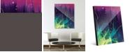"Creative Gallery Growing Tendrils Abstract 20"" x 24"" Acrylic Wall Art Print"