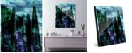 "Creative Gallery Atarra Beta Abstract 16"" x 20"" Acrylic Wall Art Print"