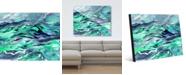 "Creative Gallery Aurodos Beta Abstract 16"" x 20"" Acrylic Wall Art Print"