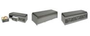 Badger Basket Kid's Storage Bench with Cushion and Three Bins