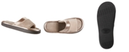 Isotoner Signature Isotoner Women's Microterry Satin Trim Wider Width Slide Slippers