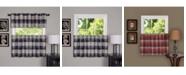 Achim Harvard Window Curtain Tier Pair, 57x36