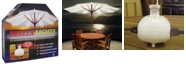 Blue Star Group BRELLA LIGHTS - Patio Umbrella Lighting System With Power Pod, 6-Rib Model