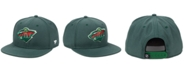 Authentic NHL Headwear Minnesota Wild Basic Fan Snapback Cap