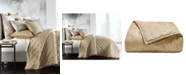 Hotel Collection Metallic Stone King Coverlet, Created for Macy's