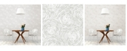 """Brewster Home Fashions Celestial Floral Wallpaper - 396"""" x 20.5"""" x 0.025"""""""