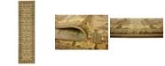 """Bridgeport Home Orwyn Orw3 Brown 2' 7"""" x 10' Runner Area Rug"""