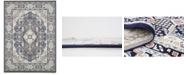 Bridgeport Home Zara Zar4 Navy Blue 10' x 13' Area Rug