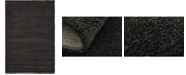 "Bridgeport Home Uno Uno1 Charcoal 5' x 7' 7"" Area Rug"