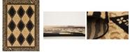 Bridgeport Home Maasai Mss6 Light Brown 7' x 10' Area Rug