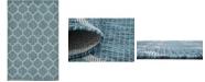 Bridgeport Home Pashio Pas5 Teal 5' x 8' Area Rug