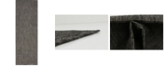 Bridgeport Home Pashio Pas6 Black 2' x 6' Runner Area Rug