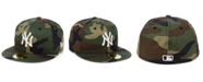 New Era New York Yankees Woodland Basic 59FIFTY Fitted Cap