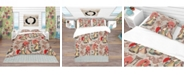Design Art Designart 'Japanese and Chinese Culture Pattern' Oriental Duvet Cover Set - Twin