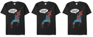 Marvel Men's Comic Collection Spider-Man with Great Power Short Sleeve T-Shirt