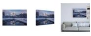 "Trademark Global Bruce Gett Roadside Reflection 2 Canvas Art - 19.5"" x 26"""