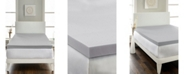 "Rio Home Fashions Hotel Laundry Charcoal 2.5"" Memory Foam Topper - Twin"