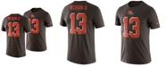Nike Men's Odell Beckham Jr. Cleveland Browns Player Pride Name and Number Logo 3.0 T-Shirt