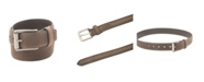 Columbia Men's Grain Feather Edge Belt