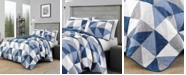Eddie Bauer North Cove Navy Quilt Set