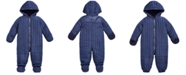 First Impressions Baby Boys Quilted Snowsuit, Created for Macy's