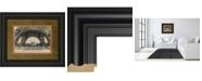 """Classy Art La Base De La Eifel by Wild Apple Studio Framed Print Wall Art - 34"""" x 40"""""""