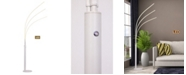 """Artiva USA Aurora 92"""" LED Arch Tree Floor Lamp, Touch Dimmer"""
