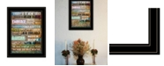 """Trendy Decor 4U Today Is by Marla Rae, Ready to hang Framed Print, Black Frame, 15"""" x 19"""""""