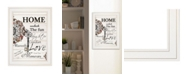 """Trendy Decor 4U Home / Laughter by Robin-Lee Vieira, Ready to hang Framed Print, White Frame, 15"""" x 19"""""""
