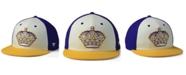 Authentic NHL Headwear Los Angeles Kings Tri-Color Throwback Snapback Cap