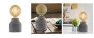 Crystal Art Gallery American Art Decor Concrete Cement Table Lamp
