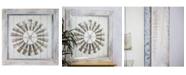 Crystal Art Gallery American Art Decor Farmhouse Windmill Print on Planked Wood