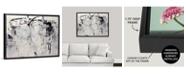 """GreatBigCanvas 40 in. x 30 in. """"Linear Space"""" by Jodi Maas Canvas Wall Art"""