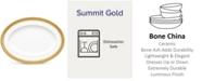 "Noritake Summit Gold Oval Platter, 12"""