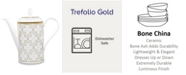 Noritake Trefolio Gold Coffee Server, 52 Oz.