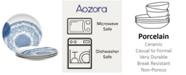 Noritake Aozora Set/4 Coupe Dinner Plates