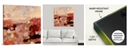 """GreatBigCanvas 36 in. x 36 in. """"New Home I"""" by  Jodi Maas Canvas Wall Art"""