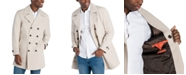 Michael Kors Men's Bennet Classic-Fit Double Breasted Cropped Belted Trenchcoat