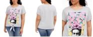 Love Tribe Trendy Plus Size Frida Stamp T-Shirt