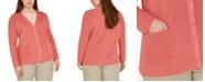 Eileen Fisher Plus Size Boyfriend Cardigan