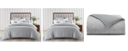 Charter Club Woven Tile 2 Pc. Duvet Cover Set, Twin, Created for Macy's