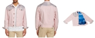 Brooklyn Brigade Men's Slim-Fit Stretch Queen Coral Trucker Jacket