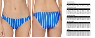 Raisins Juniors' Shore Thing Indigo Bikini Bottoms