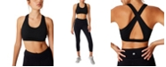 COTTON ON Women's Workout Cut Out Crop Bra