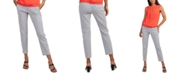 Trina Turk Moss Striped Cropped Pants