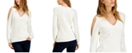 Fever Cold-Shoulder Sweater