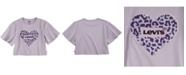 Levi's Flip Sequin Logo Sparkle Knit T-Shirt